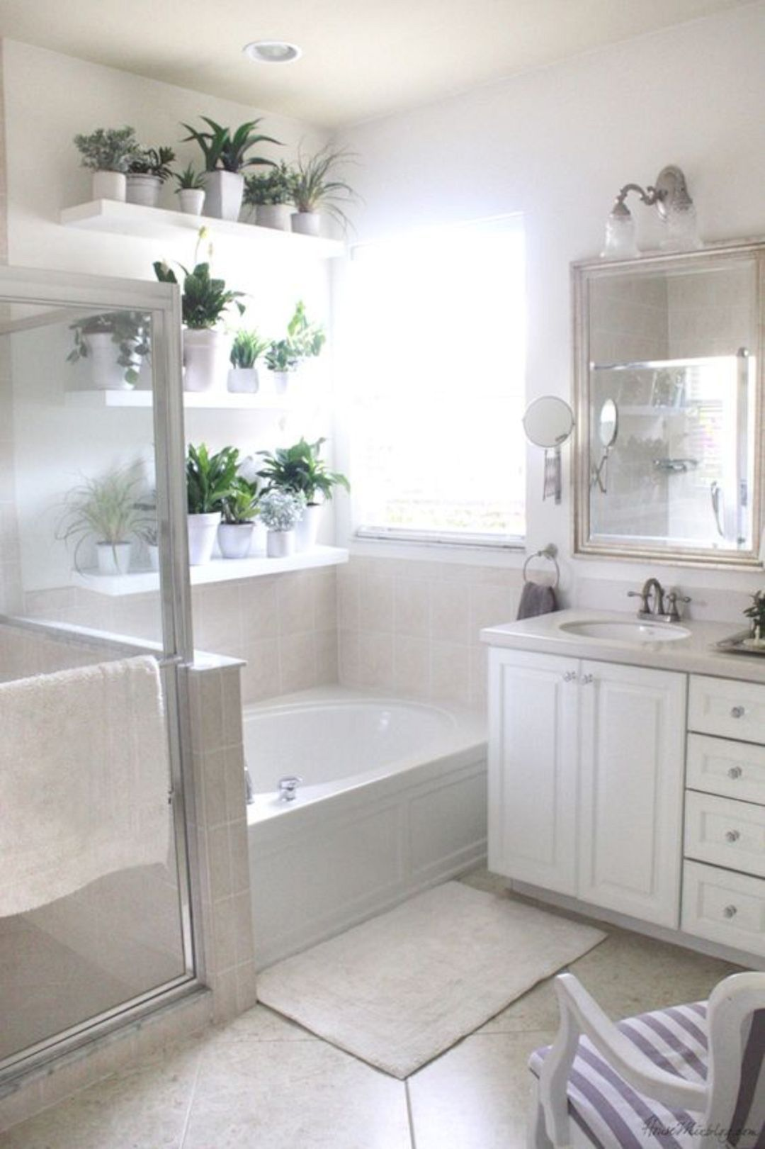 15 Bathroom Decorating Ideas You Can Have At Home Bathroom Plants Decor Bathroom Decor Bathroom Design