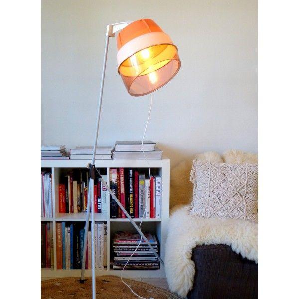 Lampadaire Casque Seche Cheveux Calor Orange Saumon La Boutique De Petra Lampadaire Luminaire Lampes Bleues