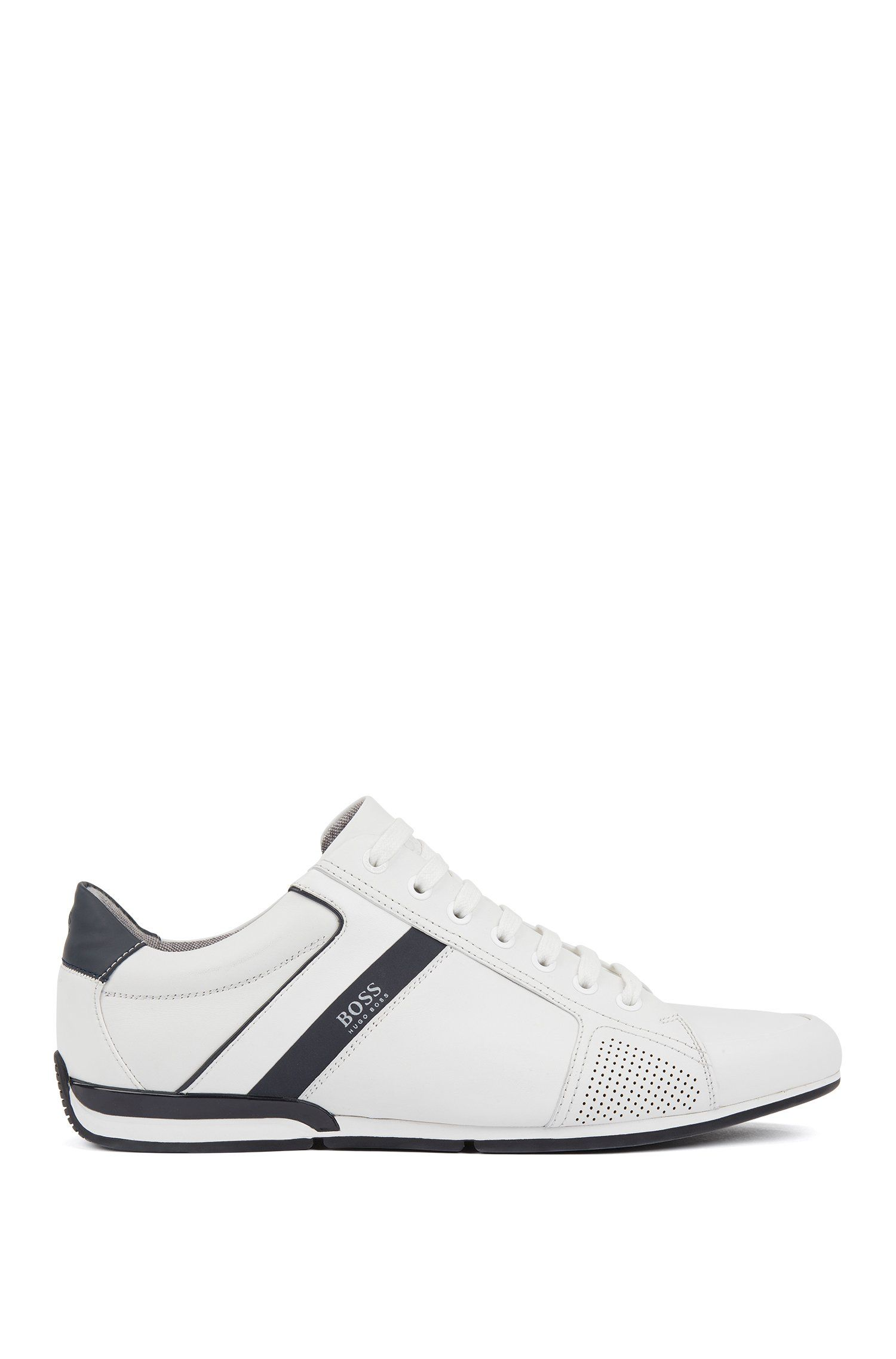 Hugo boss shoes, Leather trainers
