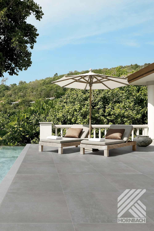 Flairstone Feinsteinzeug Terrassenplatte Modern Dark 90x90x2cm Rektifizierte Kante Bei Hornbach Kaufen In 2020 Terrassenplatten Bodenbelag Terrasse Terrasse