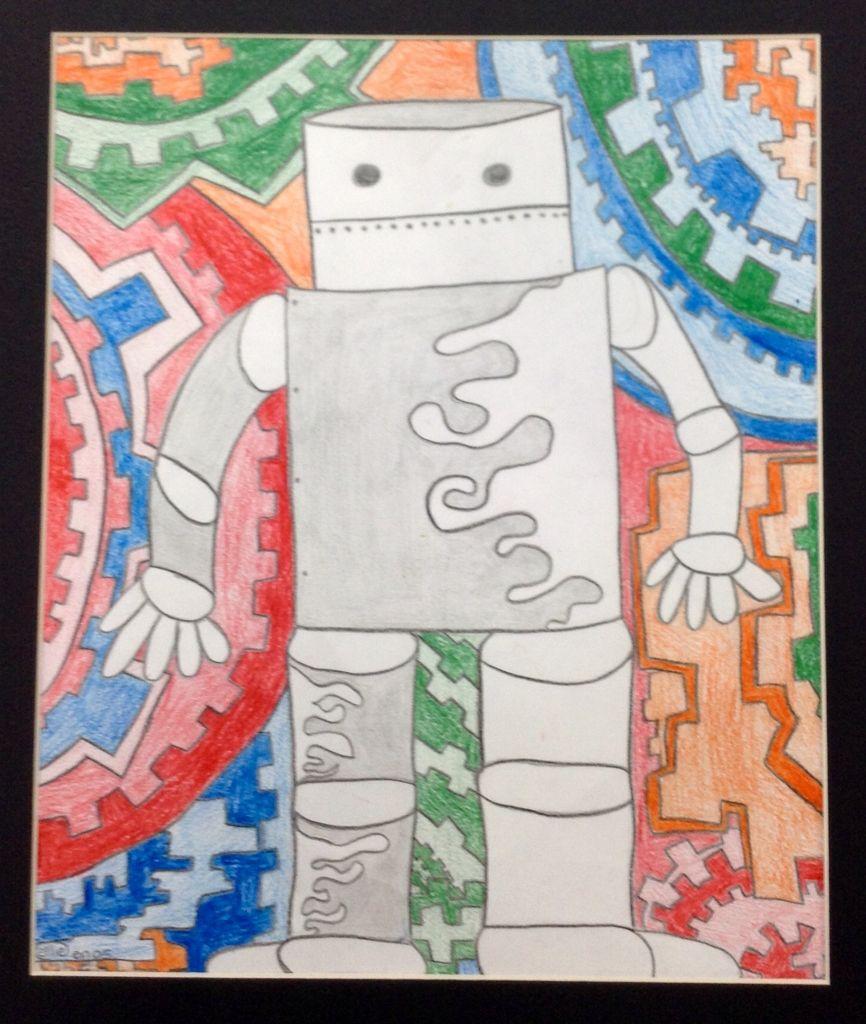 robot 6th grade art project ideas pinterest robot