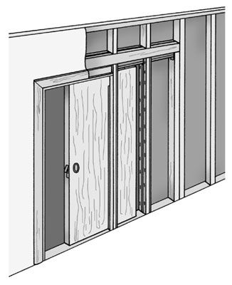 Learn How To Install A Pocket Door By Understanding Its Design Common Hardware Systems And The Step Pocket Door Installation Pocket Doors Sliding Door Design