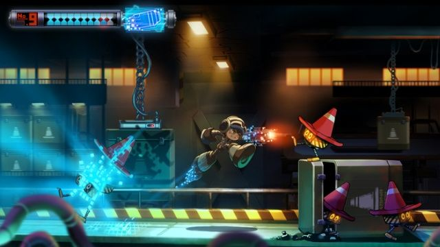 Mighty No. 9 #kickstarter Stretch Goals Added With Co-Op and Next-Gen Consoles for #linux Mac and PC