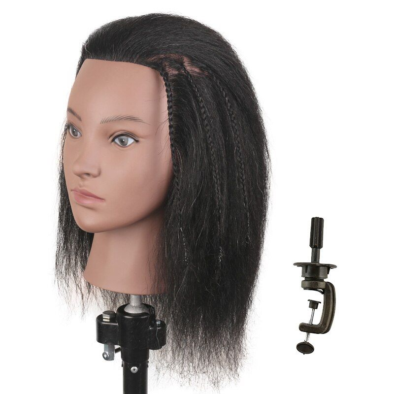 Hair Practice Head Mannequin Heads For Hairdressing Head Doll Training Head For Hairdresser Mannequi In 2020 Mannequin Heads Hairdresser Hair