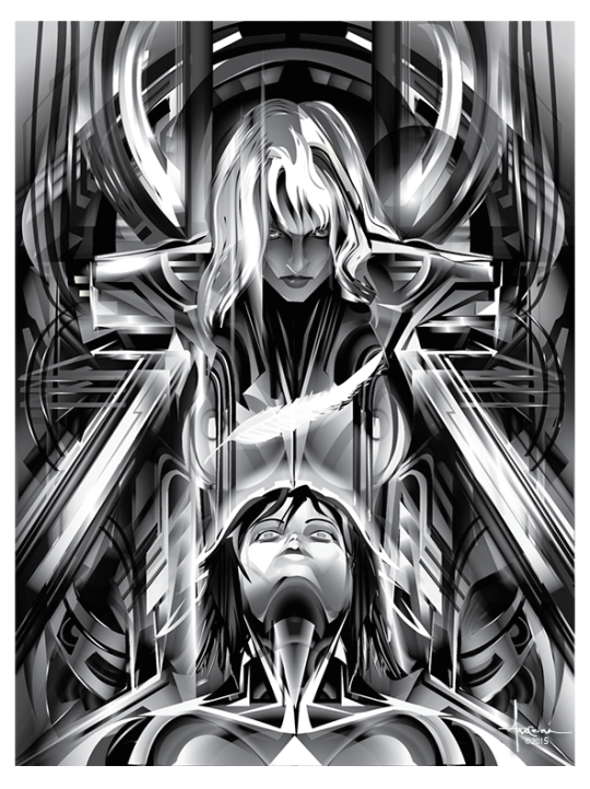 'Ghost In The Shell' by Orlando Arocena. Ghost in the