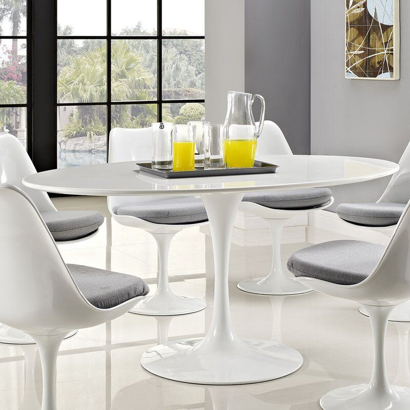 Julien Oval Dining Table Oval Table Dining Tulip Dining Table