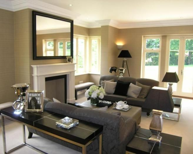Living Room With Two Loveseats Two Sofa Living Room Design Photo Of ...
