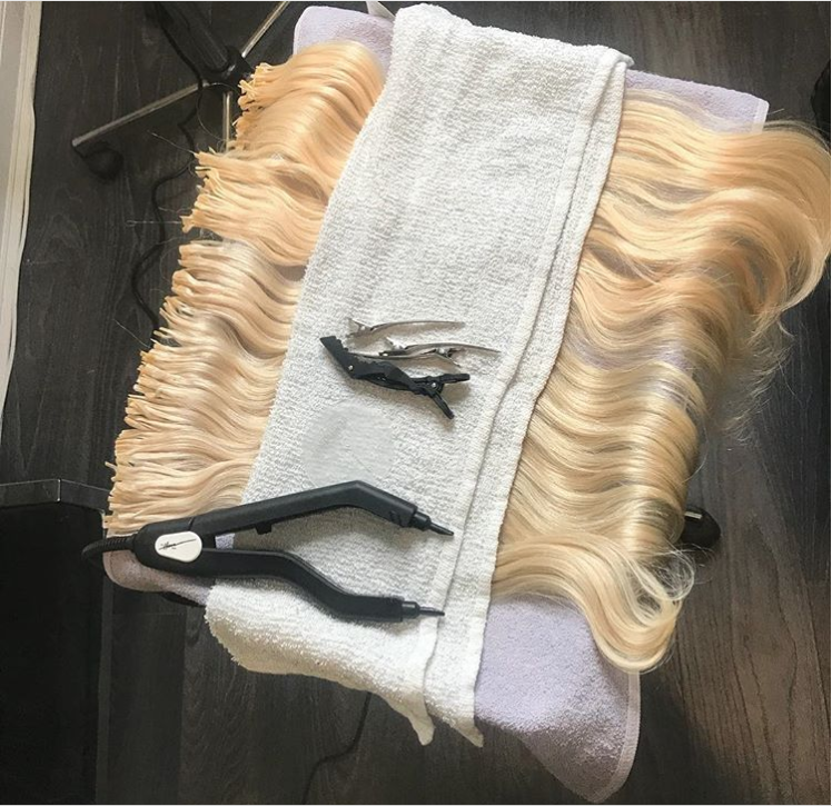 As A Hair Extension Specialist I Love To See Others Work Stations