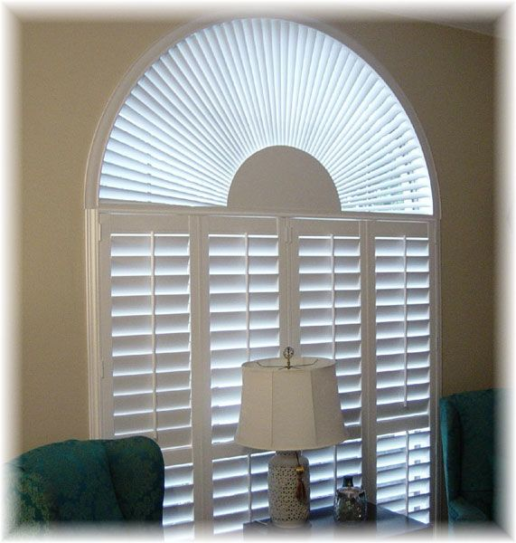 Arch Window Shade Arch Window Treatments Eyebrow