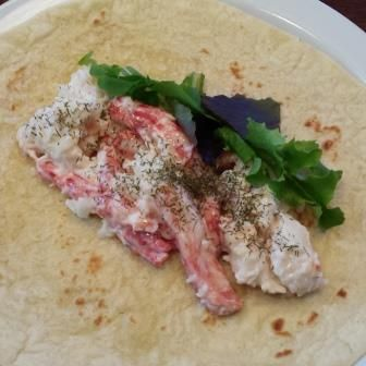 Chilean King Crab Meat Wrap