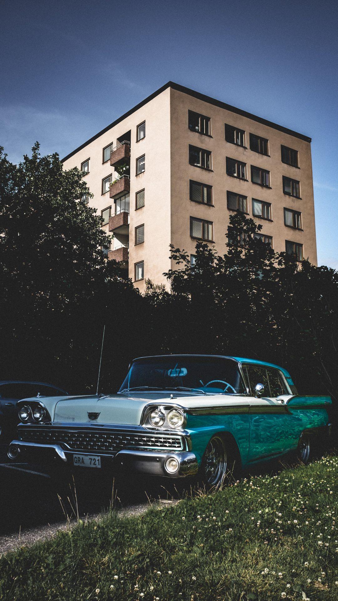 Wallpapers antique car, classic, car, classic car, hot rod