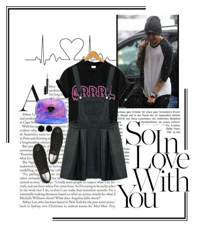 """""""just chilling/Calum"""" by lalabands ❤ liked on Polyvore featuring Converse, MAC Cosmetics, AeraVida, 5sos, calum and hood"""