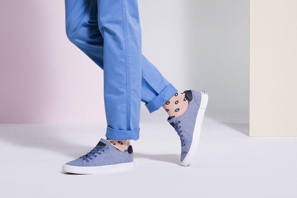 Skarpetki We Wzory Tenisowki Moda Meska Moda Online Kampania Wiosenna Fashion Sneakers Golden Goose Sneaker