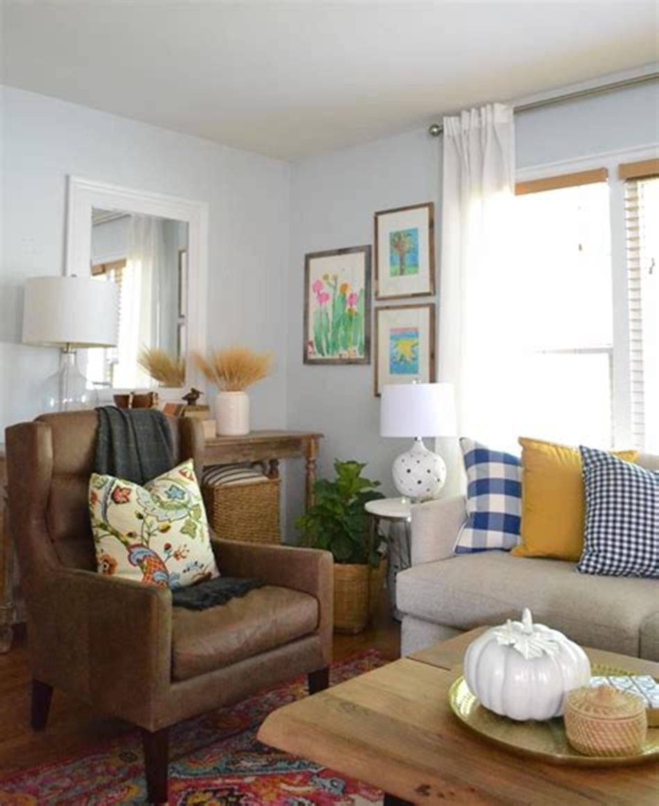 36 Cozy Fall Living Room Decorating Ideas for 2019 | Fall ...