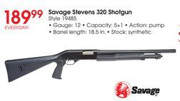 Savage Stevens 320 Shotgun from Academy Sports + Outdoors
