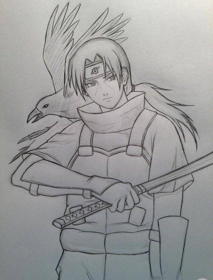 Pin By Fathita Phettai On Itachi San Itachi Uchiha Art Naruto Sketch Drawing Naruto Painting