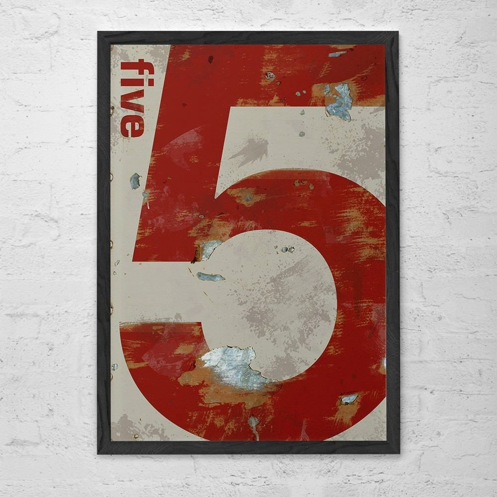 Poster Industrial Five - R$ 69,00 no MercadoLivre