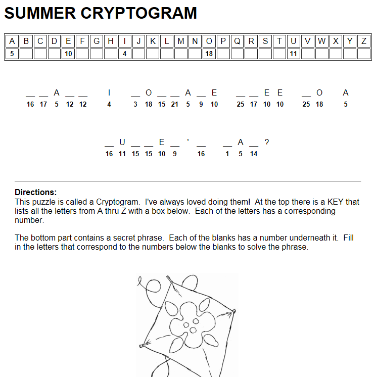 Build you own Cryptogram  | Classroom Tools | Classroom