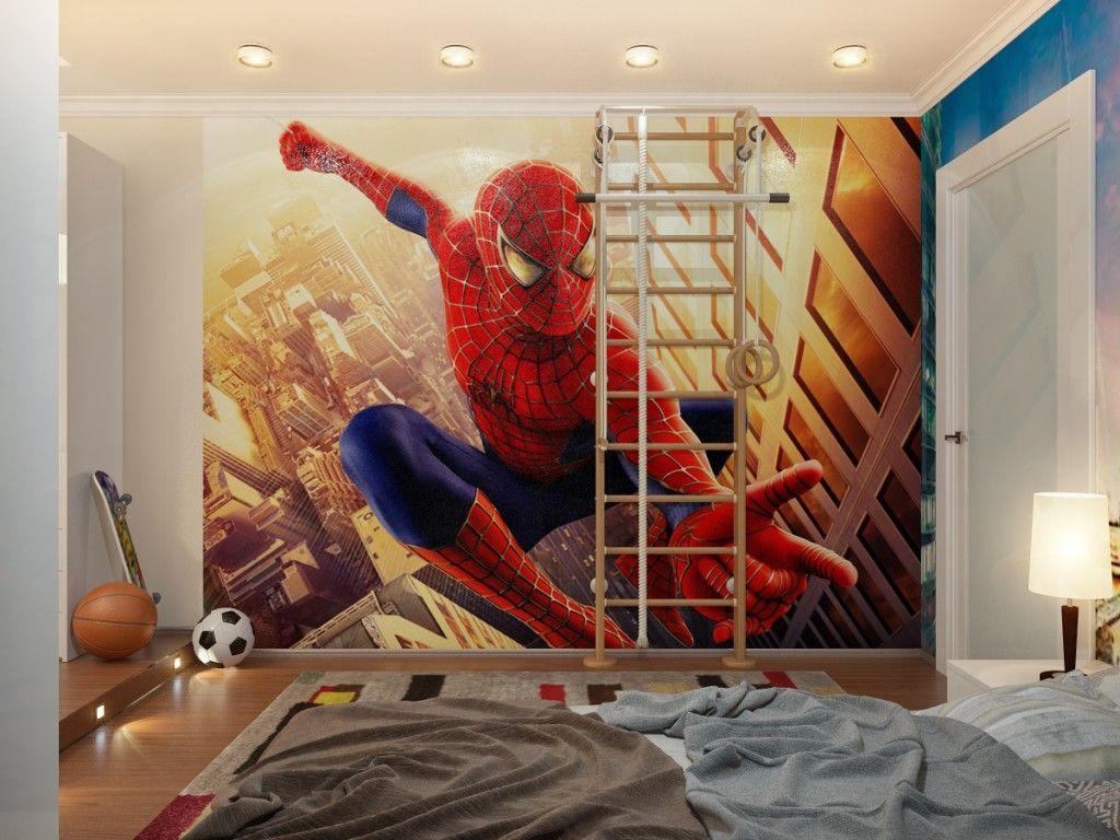 Boys Room Designs Ideas Inspiration Boy Bedroom Design Spiderman Room Spiderman Room Decor