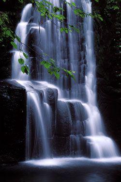 Akame Shiju Hachi Falls Mie Japan Visit Awesome Art Model On