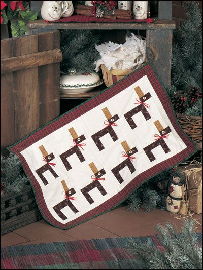 Eight Tiny Reindeer FREE quilt pattern download. Find this pattern ... : reindeer quilt patterns - Adamdwight.com