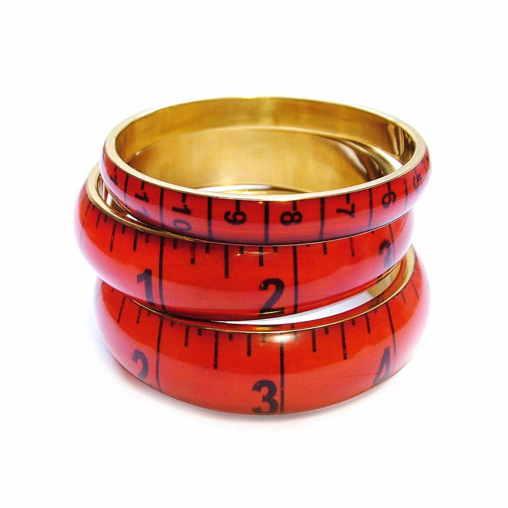 Ina Tape Measure Bangles. Bangles, Craft cupboard