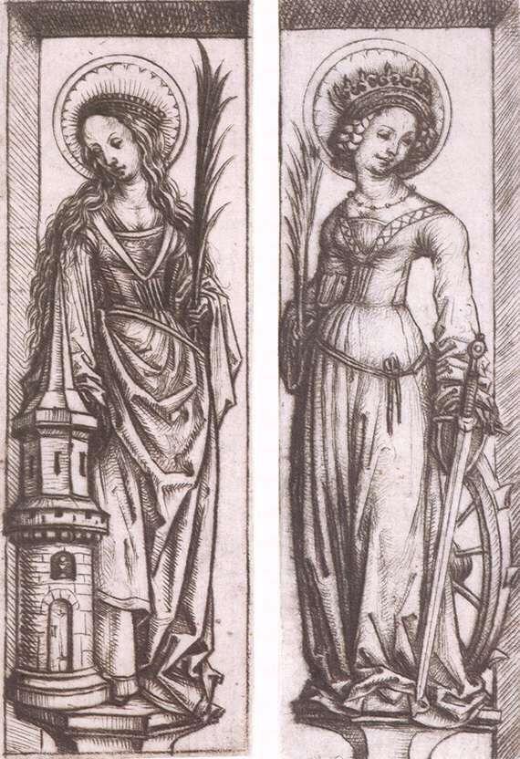 St. Barbara & St. Catherine