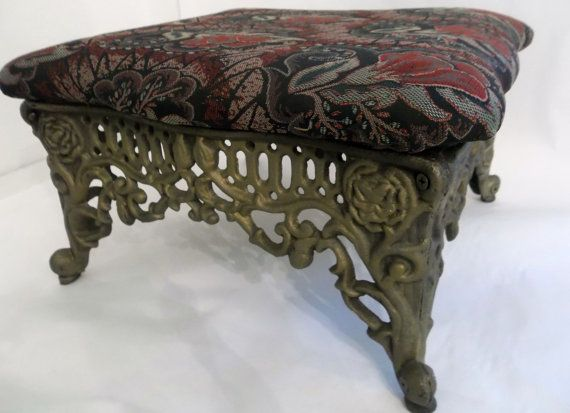 This Item Is Unavailable Footstool Foot Rest Ottoman Cast Iron Legs
