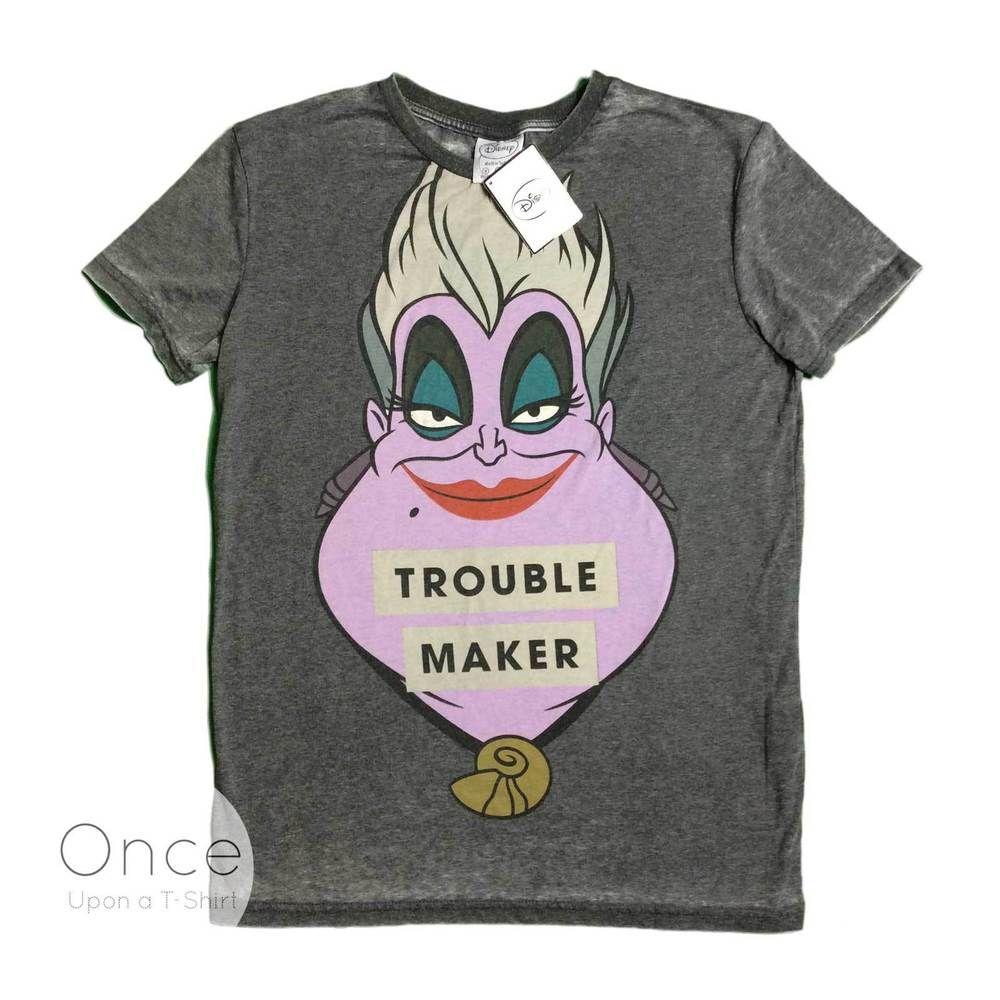 7b1c708a Primark Ladies DISNEY VILLAINS URSULA The Little Mermaid Trouble Maker T  shirt