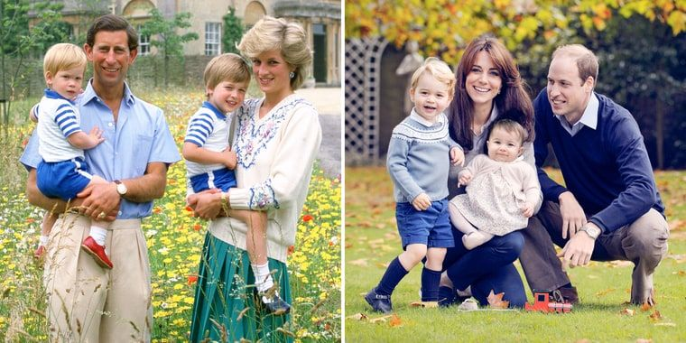 Compare the 1986 Royal Family Photo to the 2015 Portrait - Us Weekly