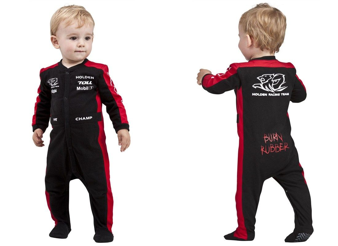 Speed Racing USA Premium Formula 1 Baby Birthday Boys Cute Costume Suit Romper