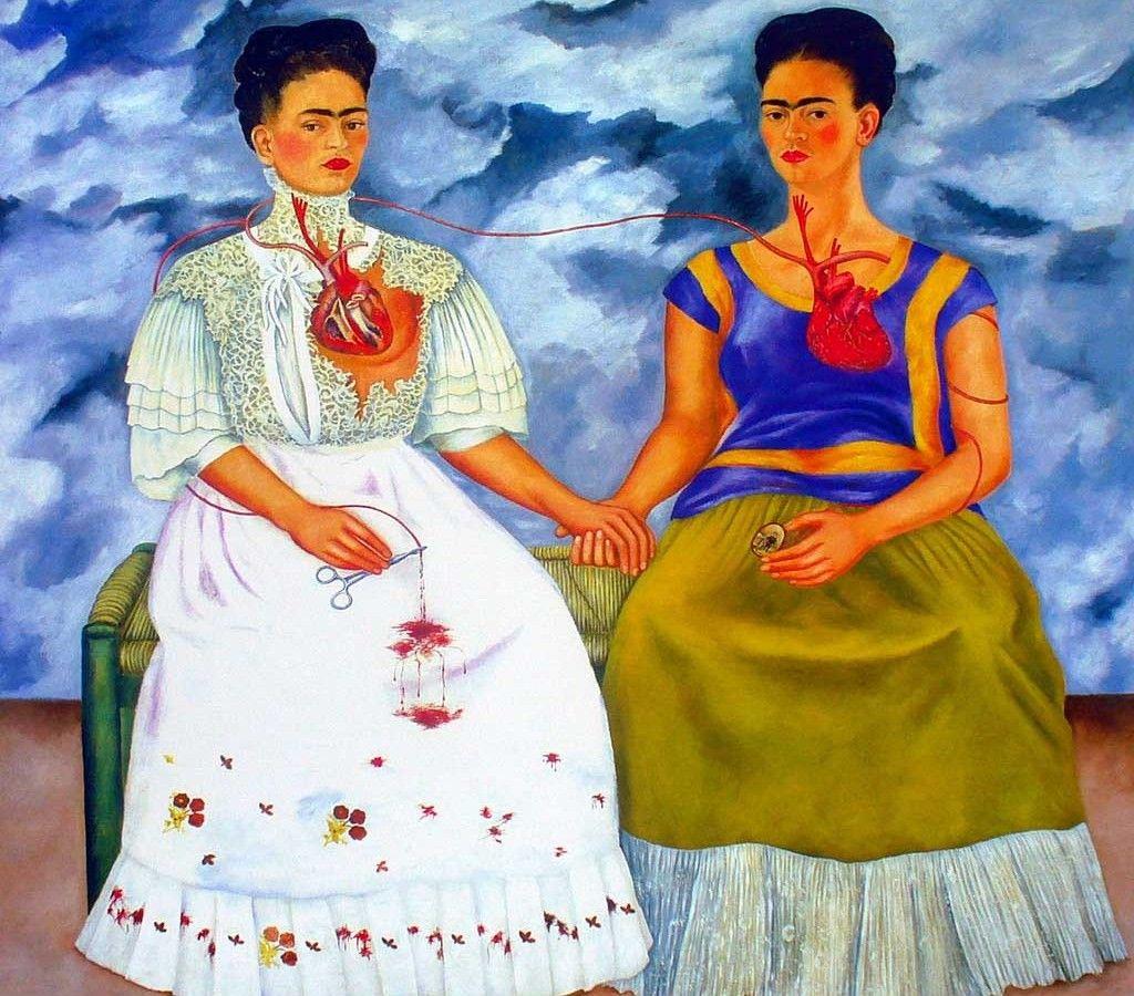 La historia detrás de once cuadros de Frida Kahlo