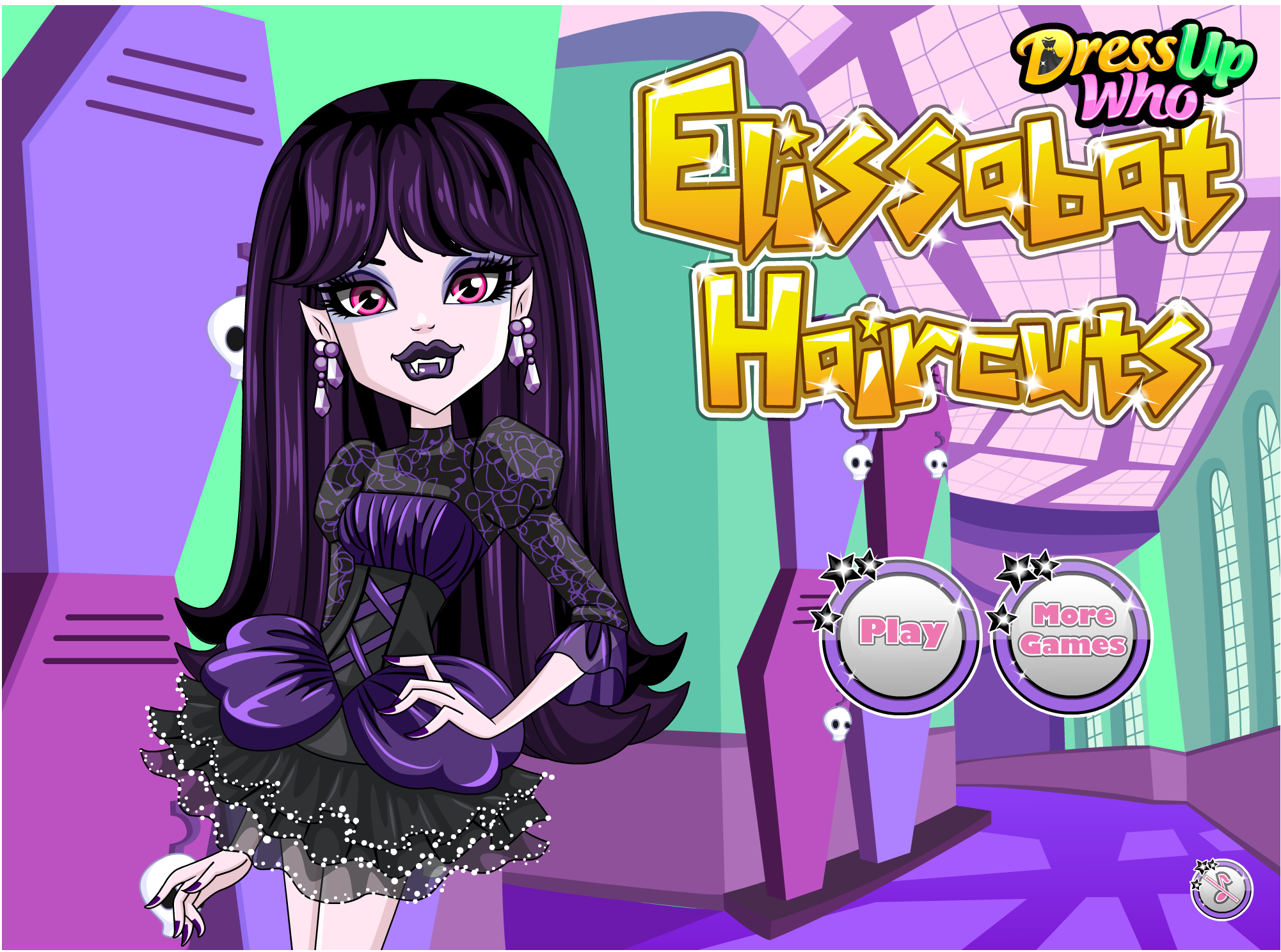 Hairstyles Games Prepossessing Monster High Elissabat Haircuts #monster #high #haircuts