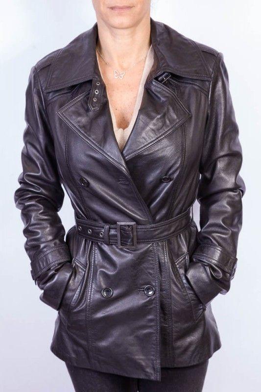 Petite veste cuir femme