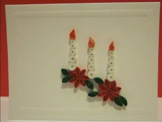 Quilled christmas card crafts quilling cards pinterest quilled christmas card crafts m4hsunfo