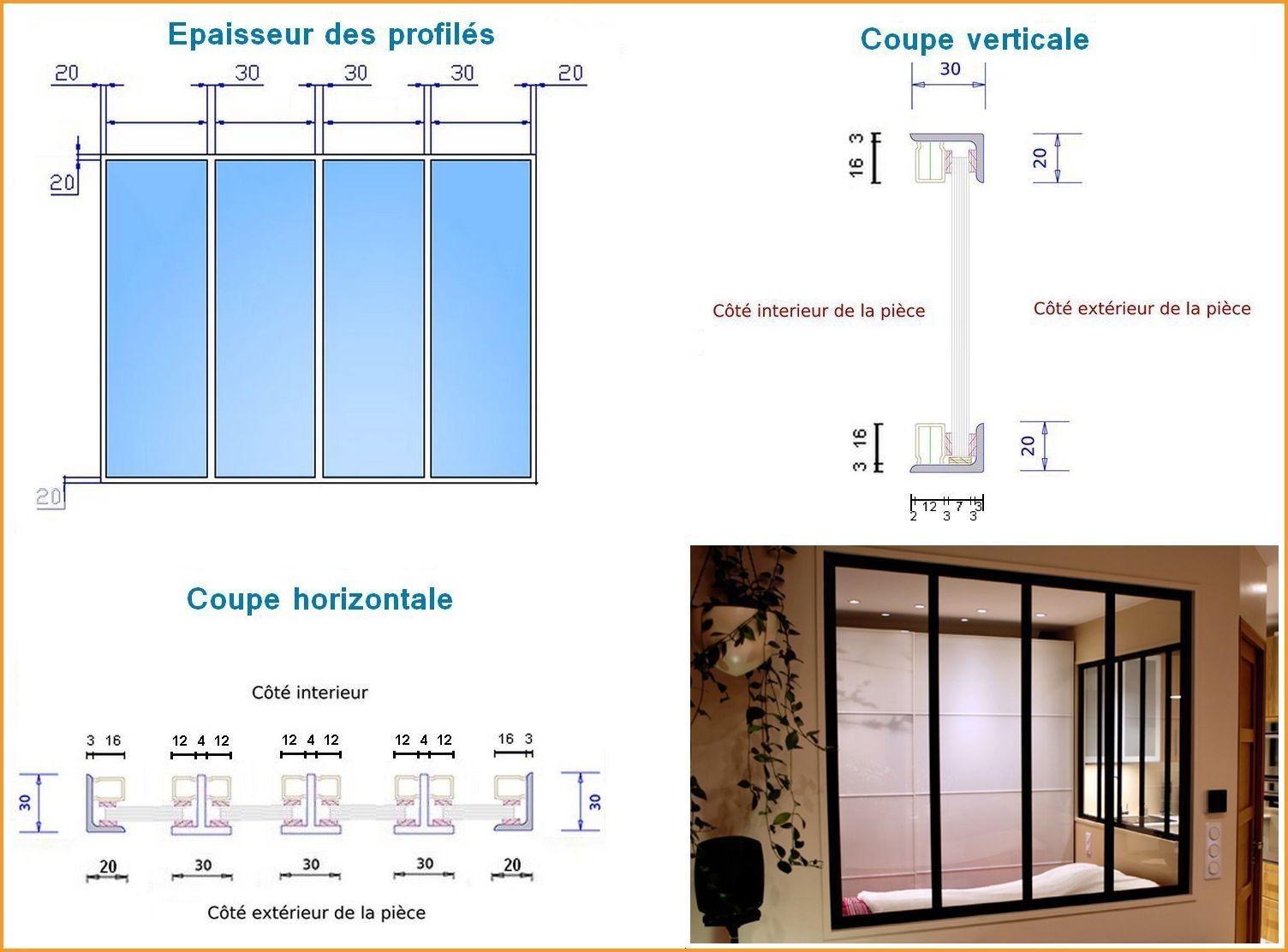 Verriere Interieure Dessin Technique Verrieres Interieure Verriere Interieur Simple