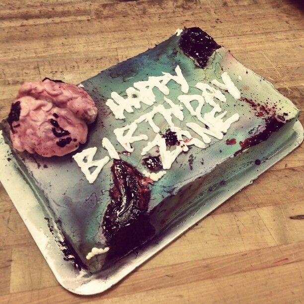Cake, Zombie Party