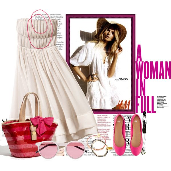 Walk Into Spring With H&M., created by irishrose1