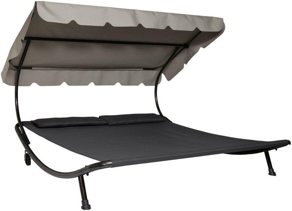 Leco Doppelliege Stahl Textil 200x200 Cm Kaufen Otto Doppelliege Sonnenliege Stahl