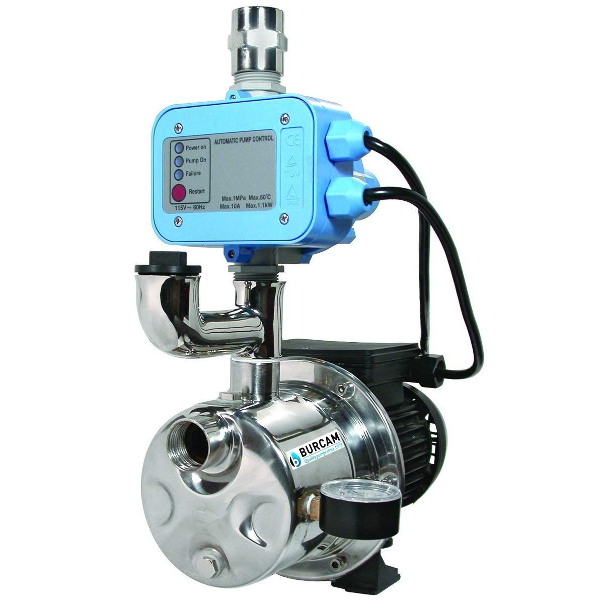 Water Pressure Booster Pump Installation At Water Tanks Water