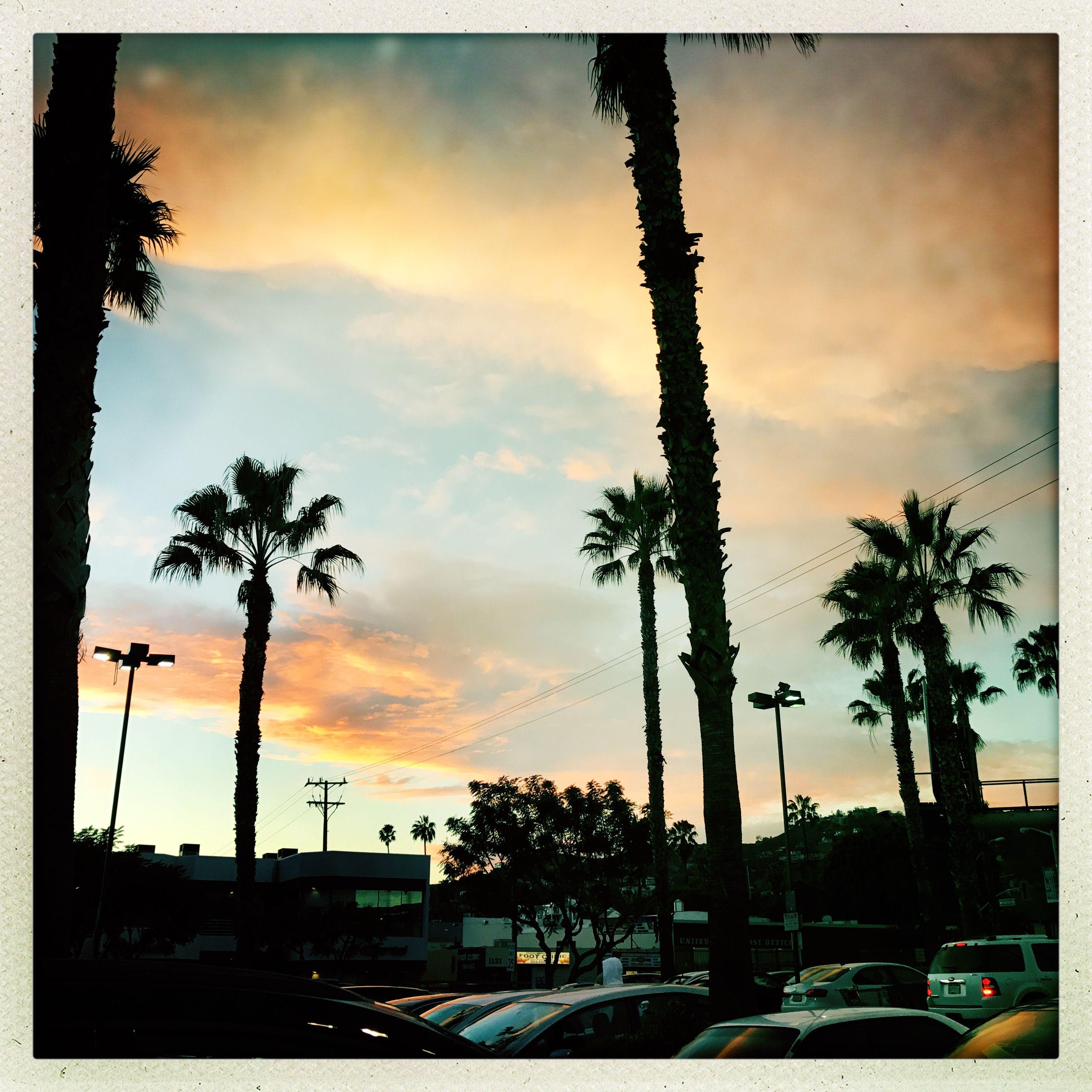 #LA sky