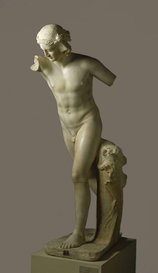 Hypnos (El sueño) Original de 150-125 a.C Copia romana del 120-130 d.C. Museo Nacional del Prado
