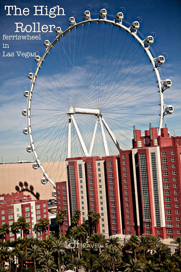 The High Roller FerrisWheel in Las Vegas.  Worlds largest Ferriswheel