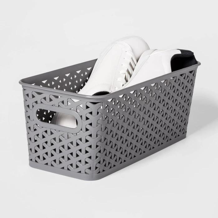 Y Weave Medium Rectangle Storage Bin Room Essentials Rectangle Storage Storage Bin Room Essentials