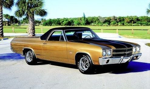 1970 El Camino - Autumn Gold