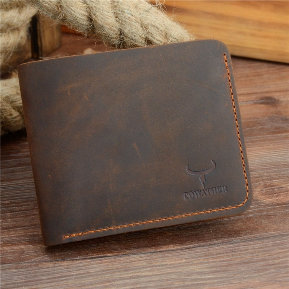 Casual leather wallet for men with images leather