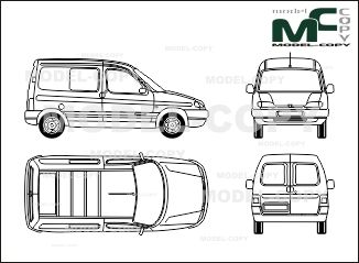 Peugeot partner box car 1 window blueprints ai cdr cdw dwg peugeot partner box car 1 window blueprints ai cdr cdw malvernweather Gallery