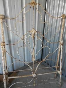 Very Old Twin 1800 S Bed Frame Antique Iron Beds Iron Bed