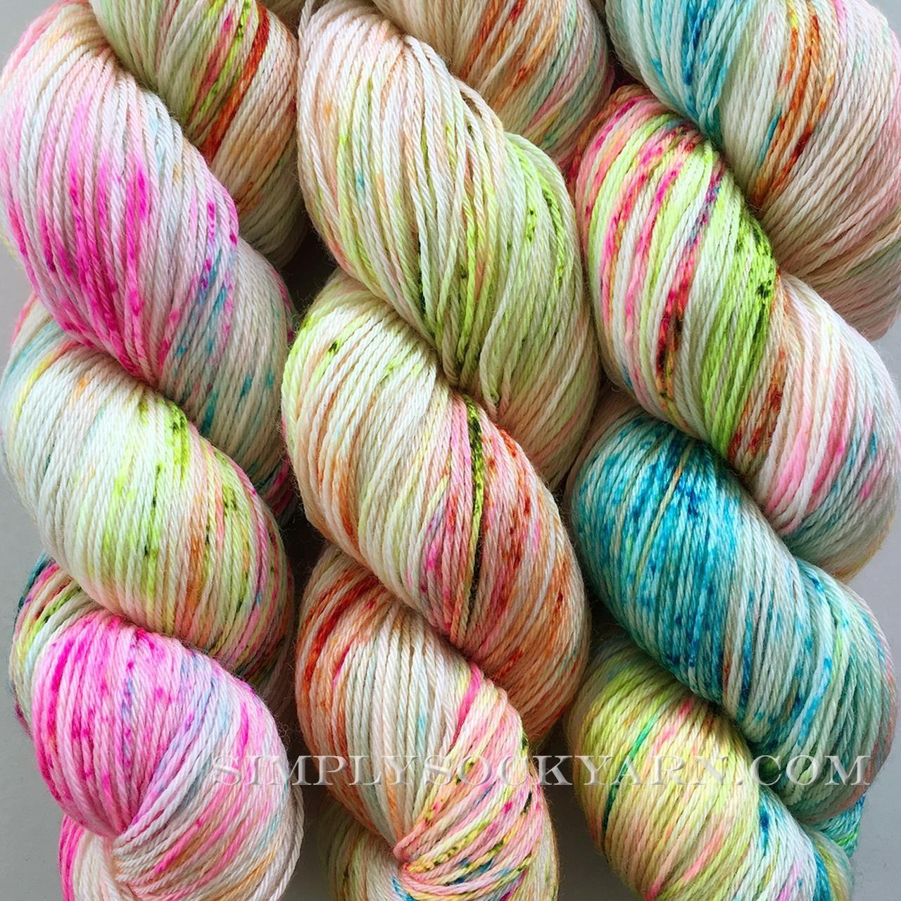Hf Sock Genie Spinning Yarn Wool Crafts Handdyed Yarn