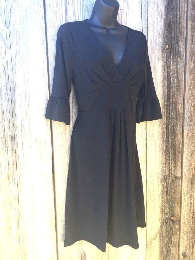 Size 4 black dress bell